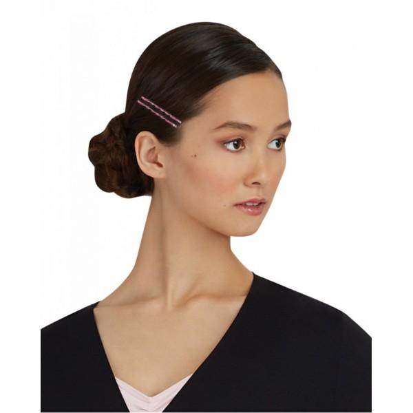 Capezio glitter glam bobby pins,  trblietavé farebné sponky do vlasov