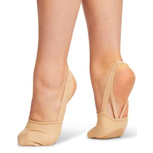 Capezio Hanami PIROUETTE, elastické tanečné špičky pre deti