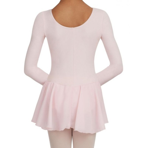 <span style='color: red;'>Predaj skončil</span> Capezio dres s dlhým rukávom a so sukňou