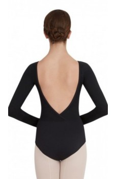 Capezio V neck long sleeve, baletný dres