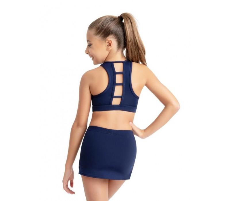 Capezio, sukňa s krátkymi nohavicami - Modrá - navy