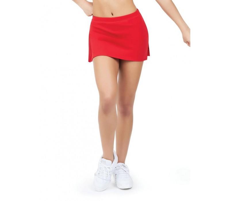 Capezio, sukňa s krátkymi nohavicami - Červená - red
