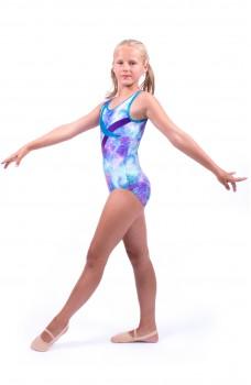 Capezio gymnastický dres na hrubé ramienka