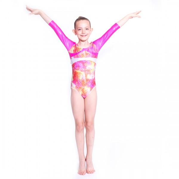 Capezio Gymnastics Arch Back, gymnastický dres