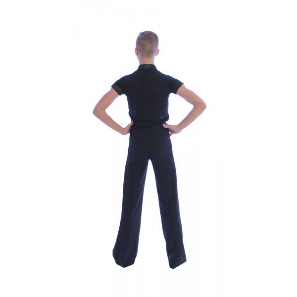 Chlapčenské spoločenské nohavice Basic