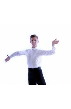 Košeľa na spoločenský tanec Pro pre chlapcov