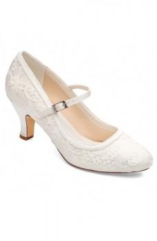 Megan, svadobné topánky