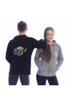 DanceMaster training hoodie, mikina so zipsom