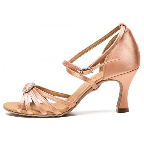 Sansha Barbara BR31038S, topánky na latinskoamerický tanec