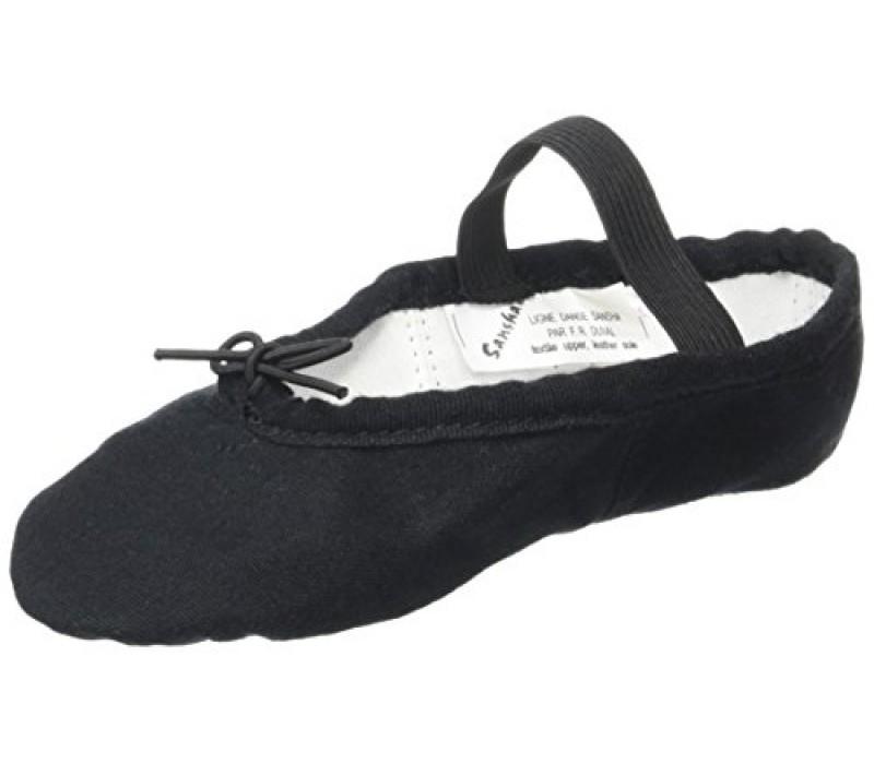 Sansha Tutu Split 5C, baletné cvičky - Čierna