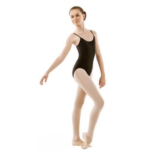 Sansha Stacie studio, baletný dres na tenké ramienka