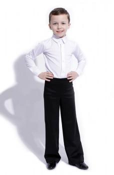 Košeľa na spoločenský tanec basic pre chlapcov