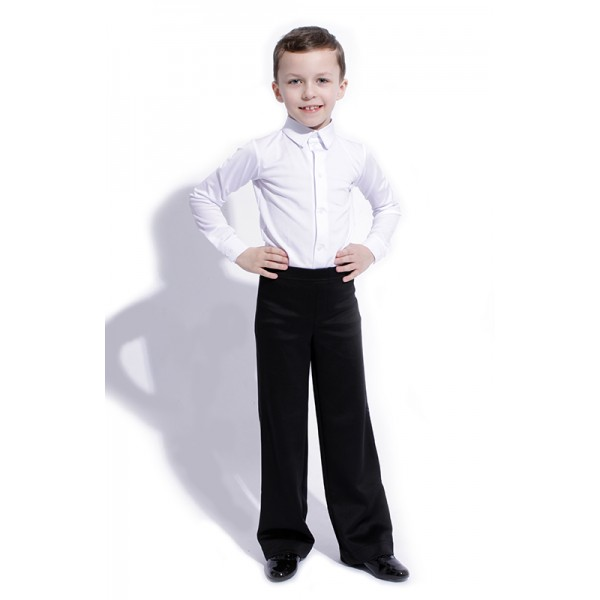 Chlapčenské spoločenské nohavice štandard Basic