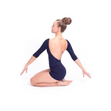 Capezio boatneck 3/4 sleeve leotard, baletný dres
