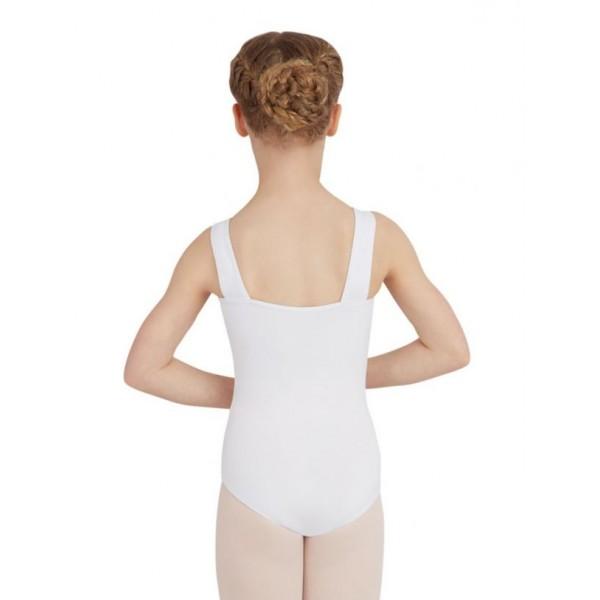 Capezio Wide Strap Leotard, detský dres na hrubé ramienka